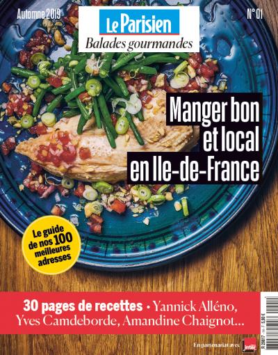 Le Parisien lance une nouvelle collection de hors-série : Balades Gourmandes