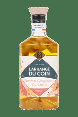 L'ARRANGÉDU COIN : pomme - gingembre – curcuma 32°