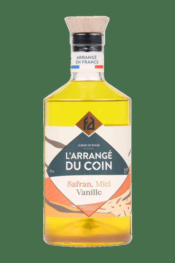 L'ARRANGÉ DU COIN : safran – miel – vanille 31.5°