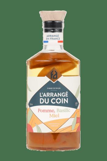 L'ARRANGÉDU COIN : pomme – basilic – miel 30°
