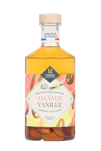 LES ARRANGÉS DE LA FABRIQUE À ALCOOLS : amande – vanille 30°