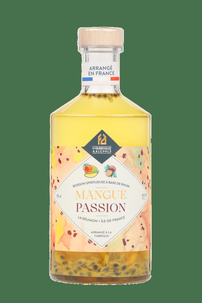 LES ARRANGÉS DE LA FABRIQUE À ALCOOLS : mangue – passion 31.5°