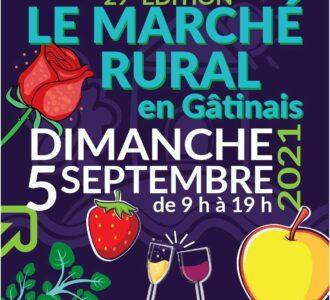 29ᵉ édition LE MARCHE RURAL en Gâtinais